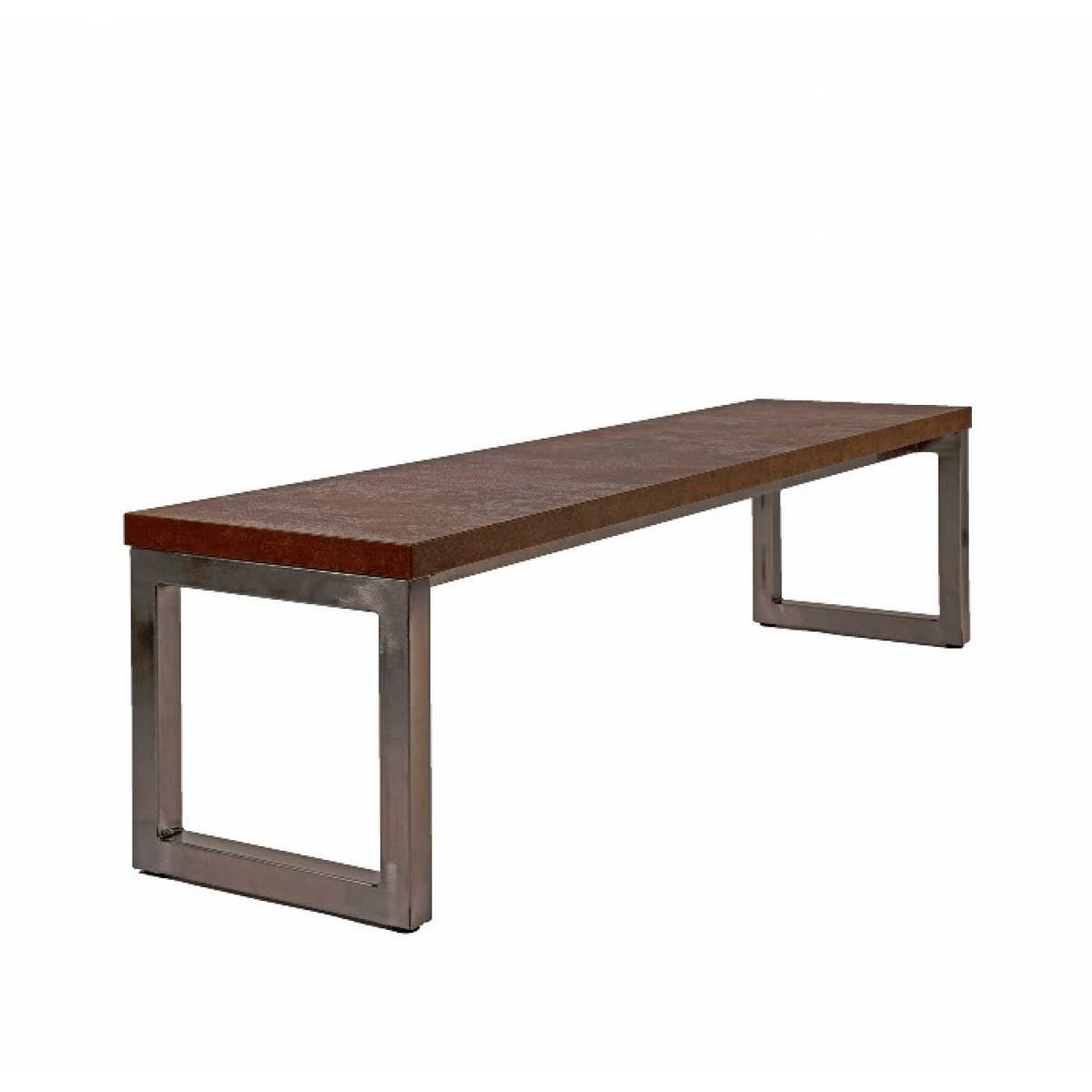 Awe Inspiring Axiom Rustic Industrial Style Canteen Bench Seat Ocoug Best Dining Table And Chair Ideas Images Ocougorg