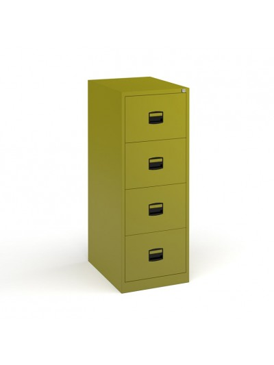 Coloured Contract Filing Cabinet 2 3 or 4 drawer