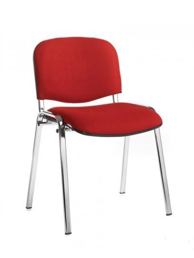 BIG DEALS Taurus Fabric Chair Black or Chrome box of 4