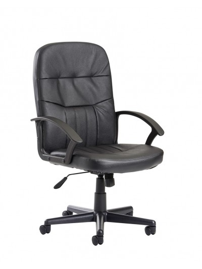 BIG DEALS Cavalier high back managers chair Leather Faced