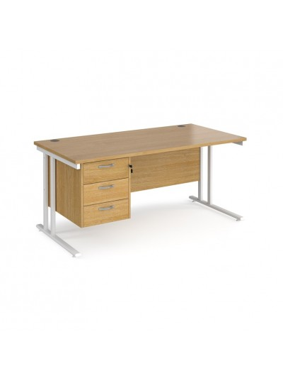 Big Deals Dams 600mm Deep Single 3 Drawer Pedestal Desk