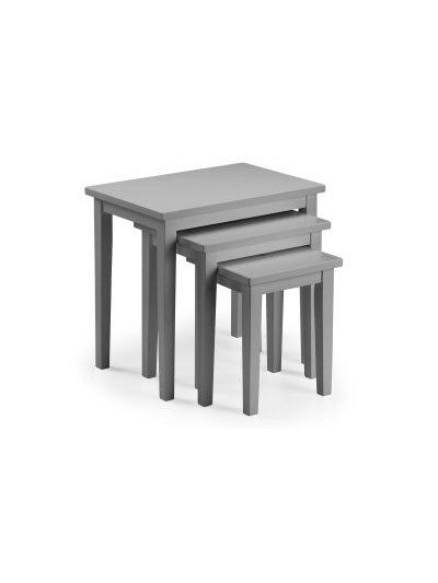 julian bowen Cleo Nest of Tables - Lunar Grey