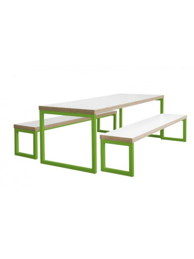 Wondrous Axiom Heavy Duty Canteen Bench Table Ocoug Best Dining Table And Chair Ideas Images Ocougorg