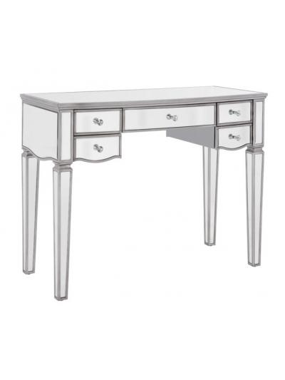 birlea Elysee Mirrored 5 Drawer Dressing Table