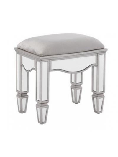 birlea Elysee Mirrored Dressing Table Stool