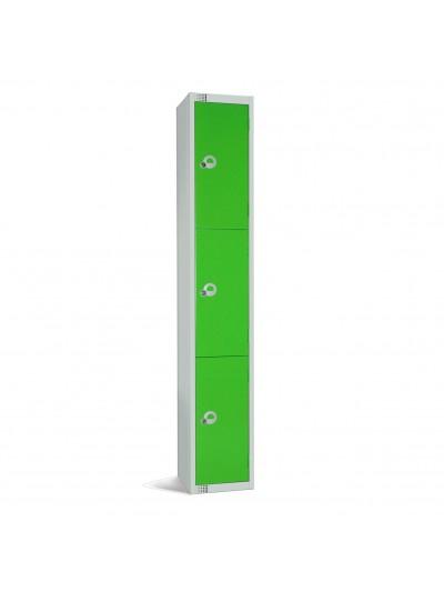 Metal 3 Door Personal Storage Locker