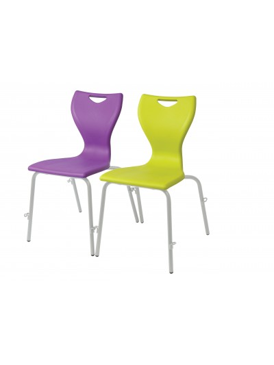 EN12 Classic 4 Leg Chair with linking frame