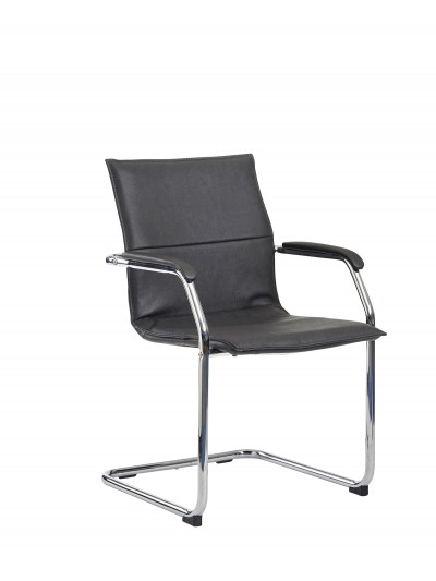 Dams Essen stackable meeting room cantilever chair