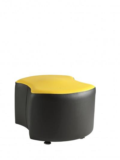 Alliance Pacman Single Seat Double Concave Unit (Chrome Glides as Standard)