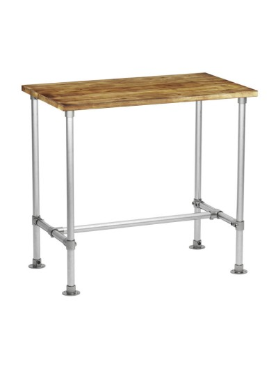 ZAP Industrial style Rectangular Scaffold Poseur Table