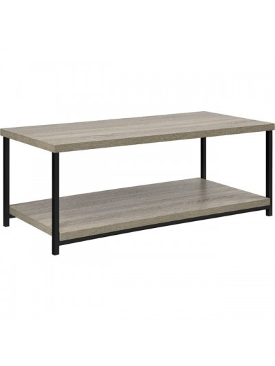 Dorel Elmwood coffee table in distressed grey oak