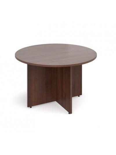 DAMS Arrow head leg circular meeting table