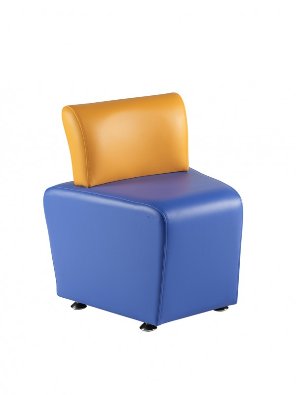 Alliance Sinuous Adult Angled with Back Rest (Chrome Glides as Standard)