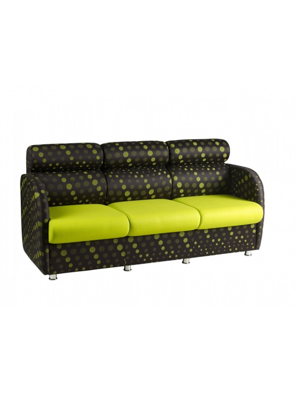 Alliance Dolfin 3 Seater with Arms (Chrome Glides as Standard)