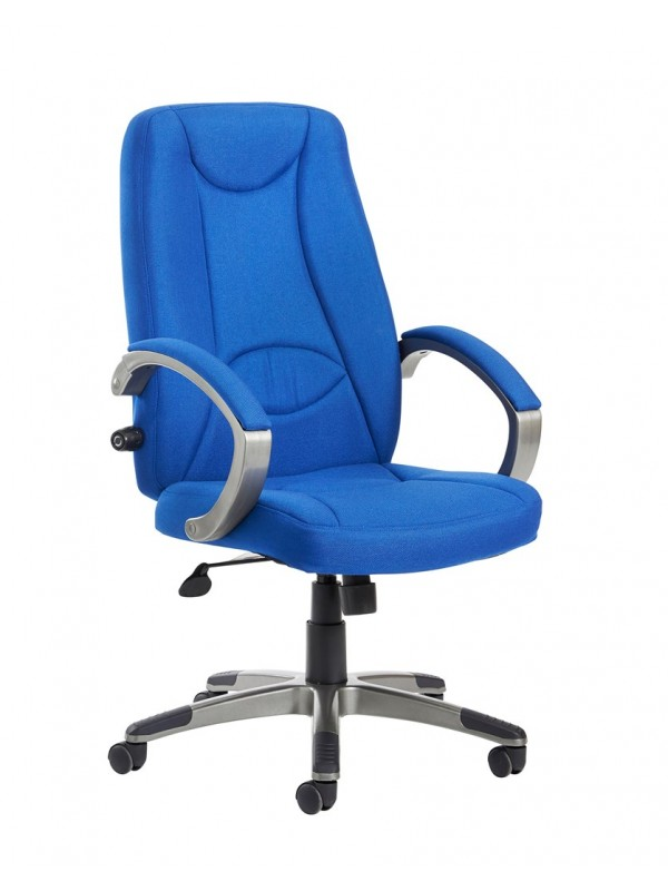 Lucca high back fabric managers chair