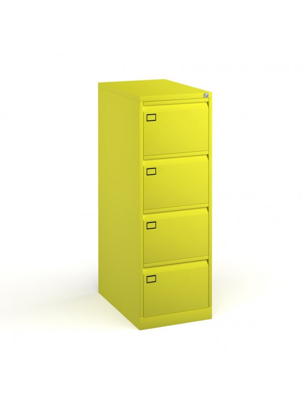 Coloured executive filing cabinets 2,3,or 4 drawer