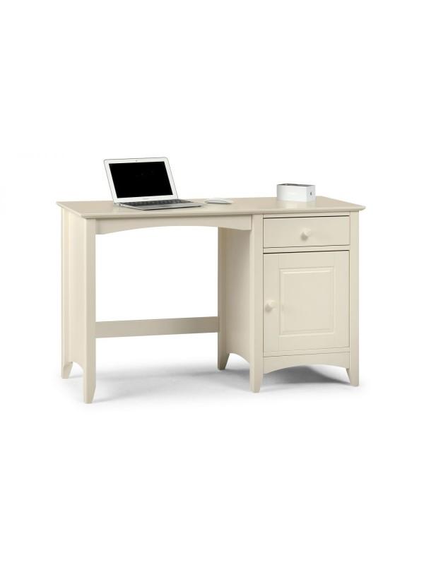 julian bowen Cameo Desk - Stone White