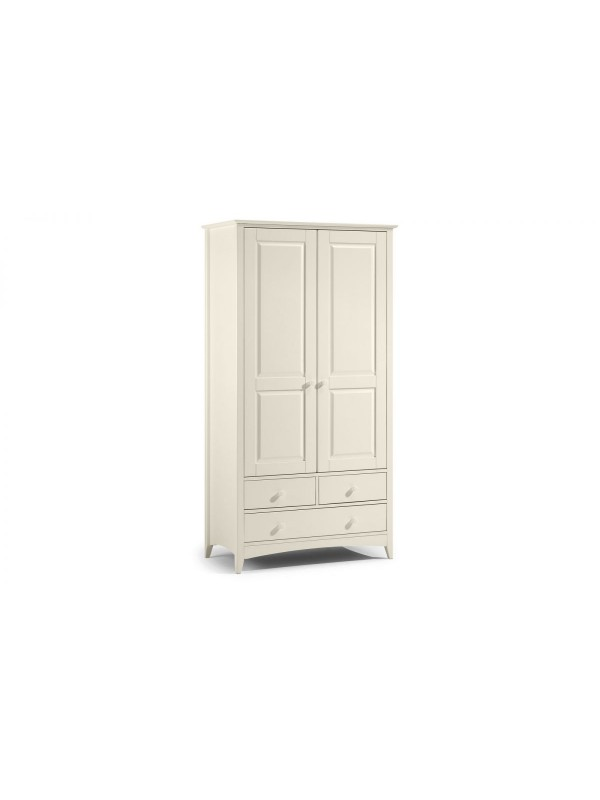 julian bowen Cameo Combination Wardrobe - Stone White