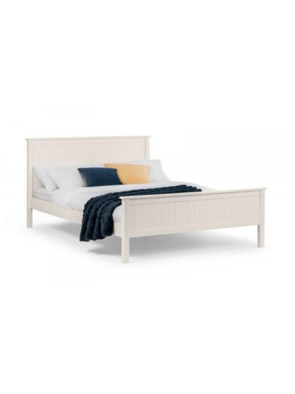 Julian Bowen Maine Bed - Surf White