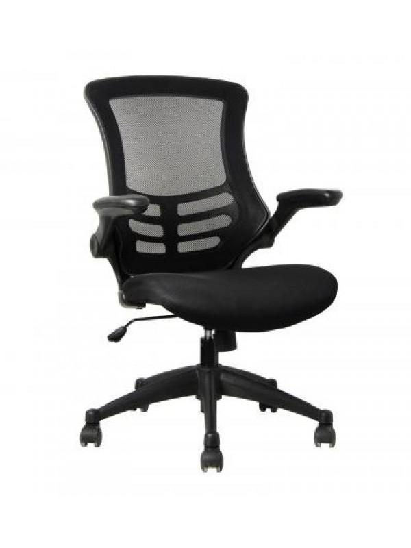 oI Best Seller Value Deluxe Mesh Operator Chair in Black