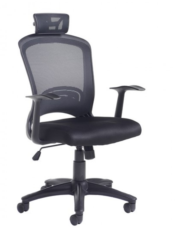 dams Solaris mesh back operator chair