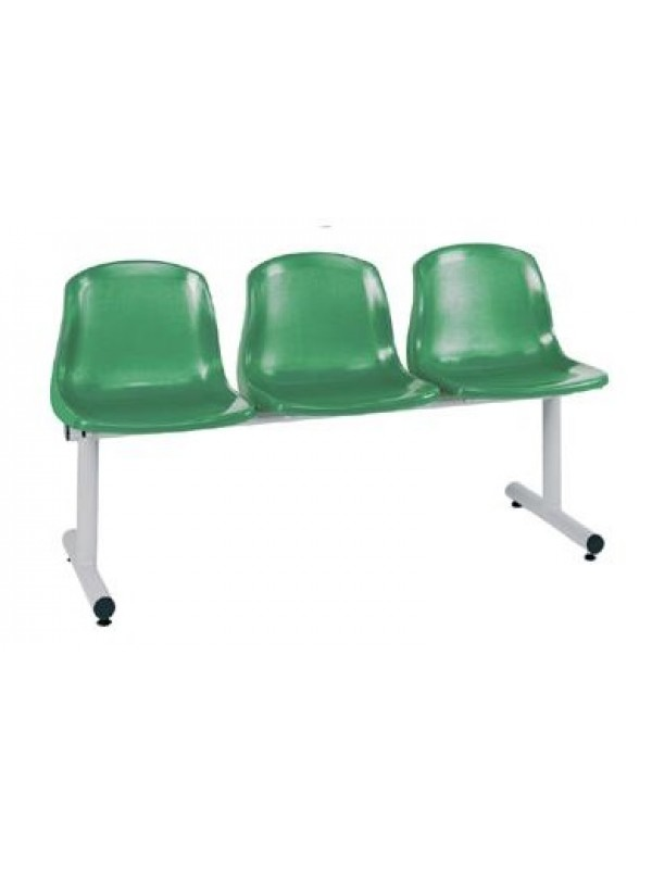 Create Bertie BM10 Polypropylene Beam Seating ideal for Waiting rooms Receptions & Takeaways