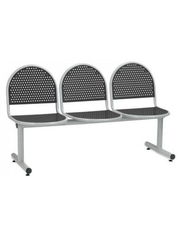 Create Billy BM17 Metal Beam Seating ideal for Waiting rooms Receptions & Takeaways