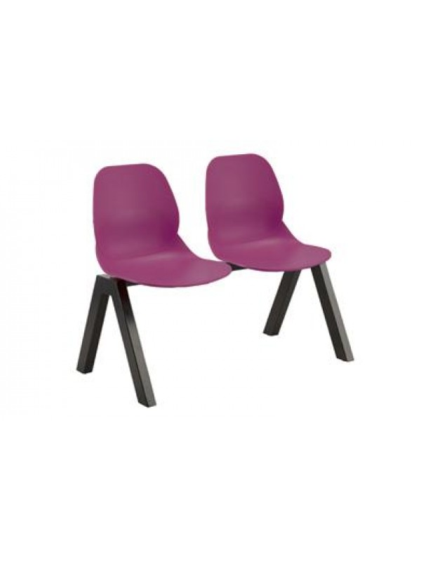Create Bobby BM74 Polypropylene Beam Seating ideal for Waiting rooms Receptions & Takeaways