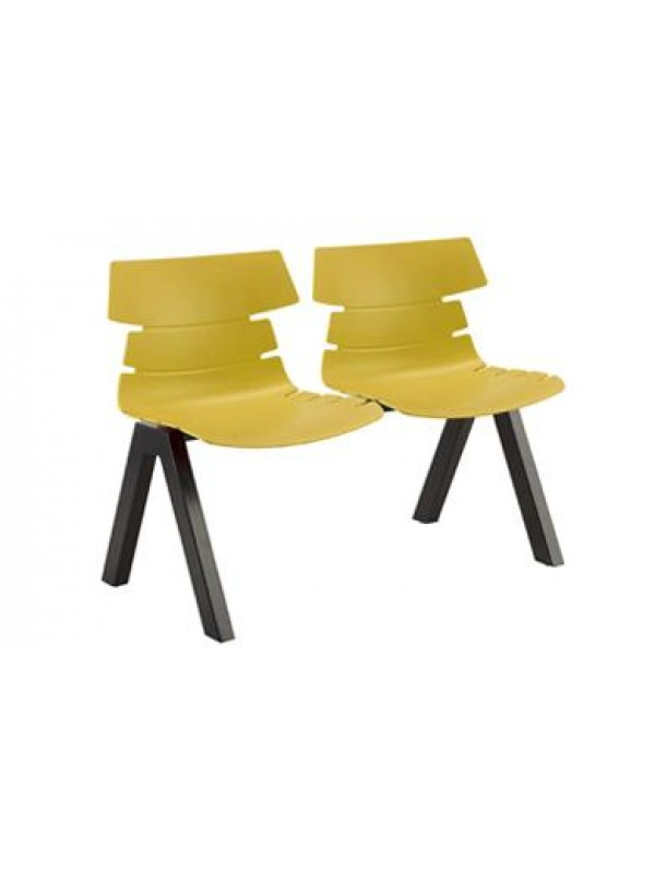 Create Benny BM75 Polypropylene Beam Seating ideal for Waiting rooms Receptions & Takeaways
