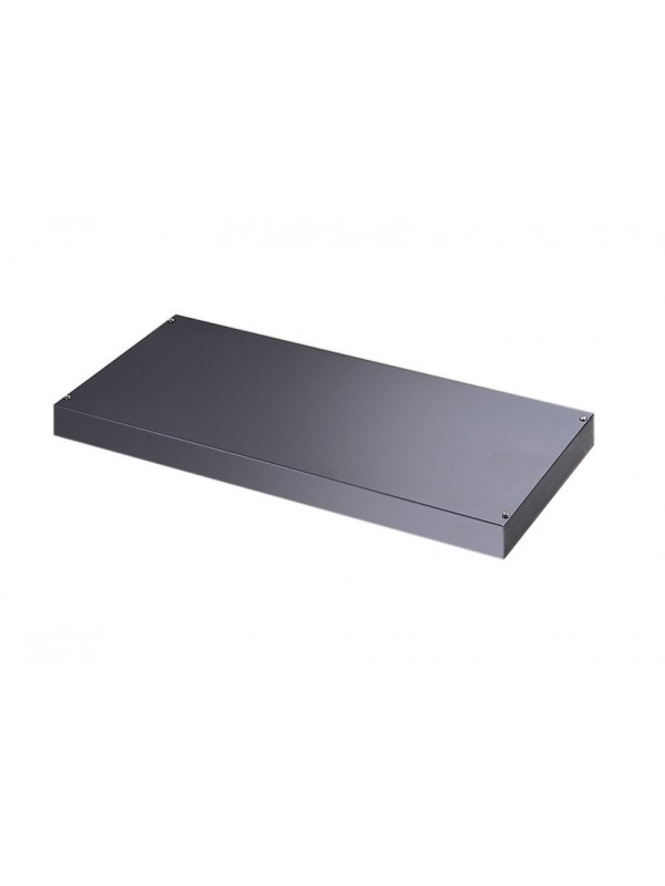 DAMS Plain steel shelf internal fitment for systems storage - graphite grey