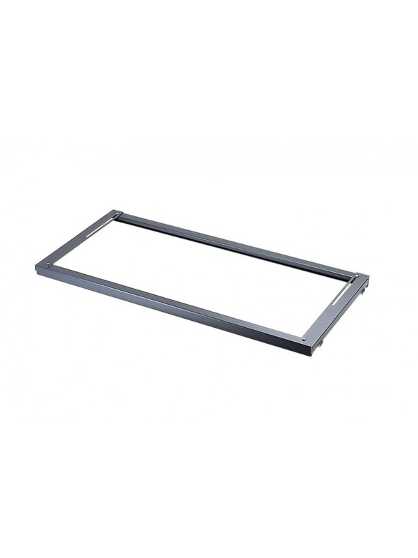 DAMS Lateral filing frame internal fitment for systems storage - graphite grey