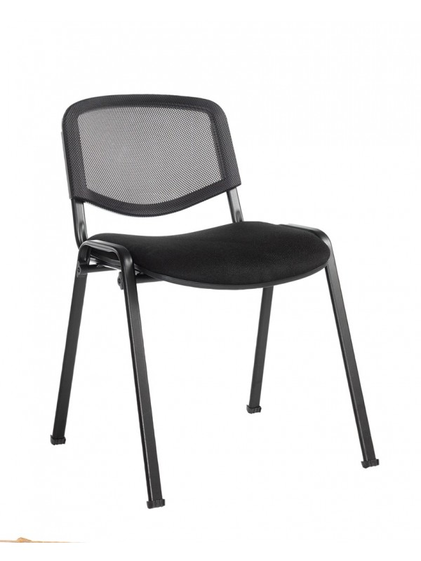 Dams Taurus mesh back meeting room stackable chair