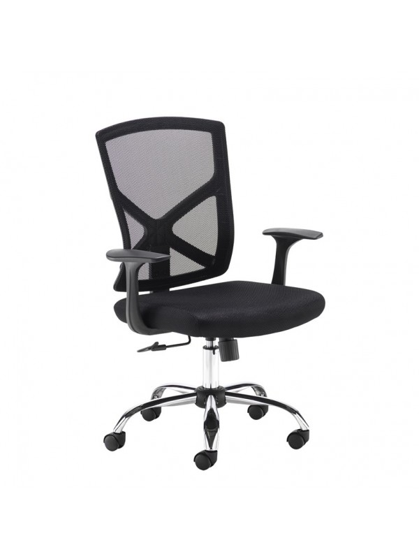 Big Deals Dams Hale Mesh Back Operator Chair with Chrome Base