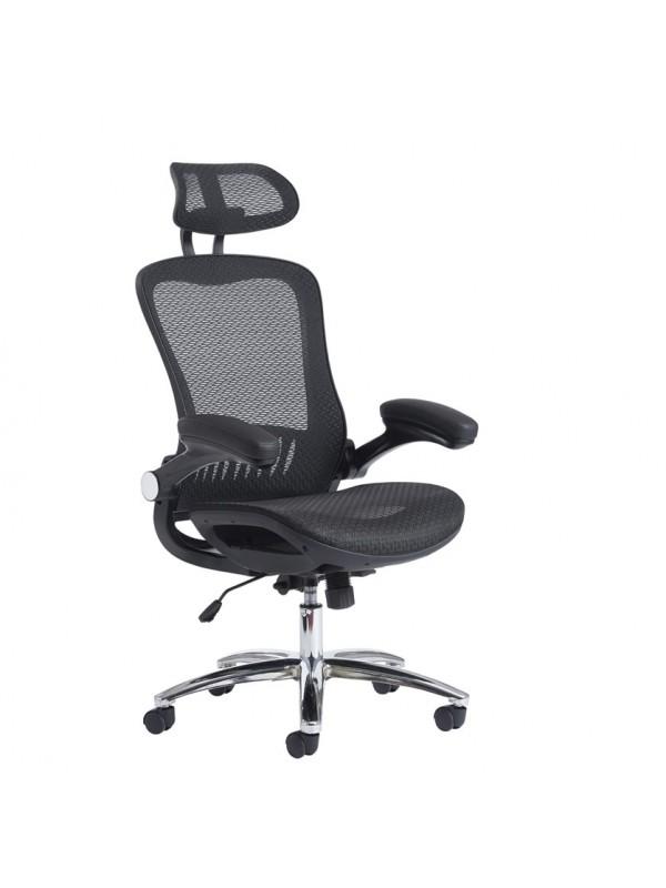 Curva high back mesh chair