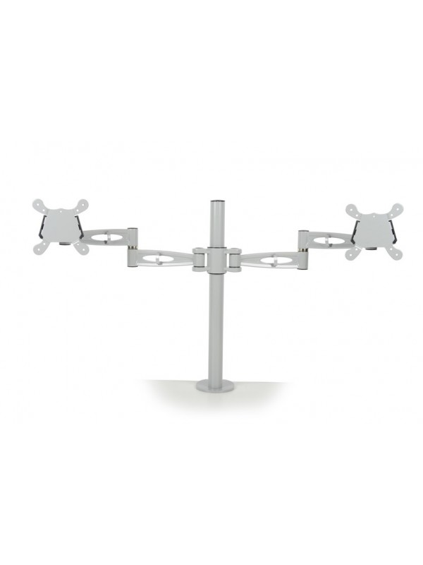 Twin flat screen monitor arm