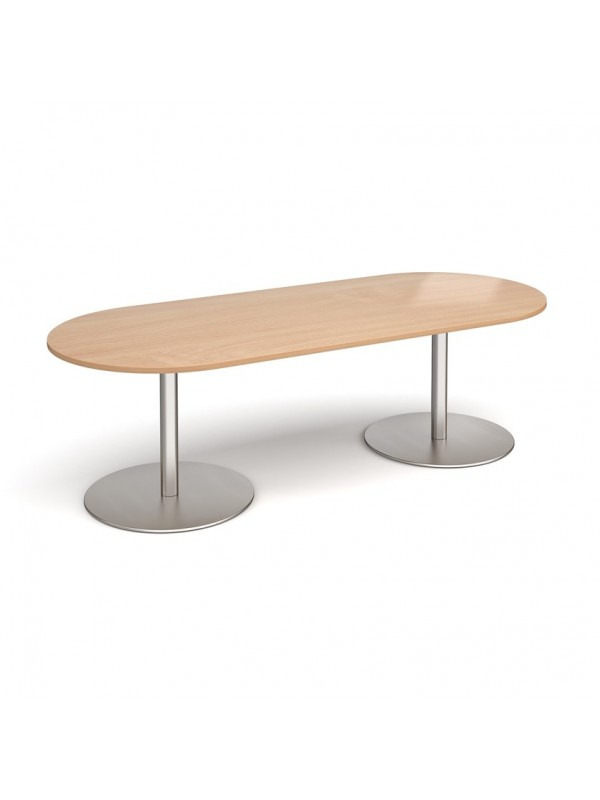 DAMS Eternal radial end boardroom table
