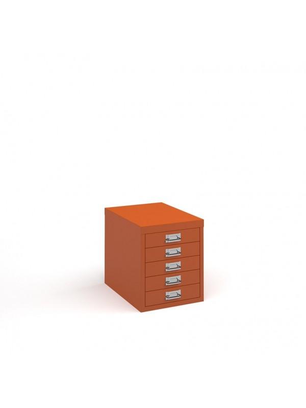 DAMS Bisley multi drawers with 5 drawers