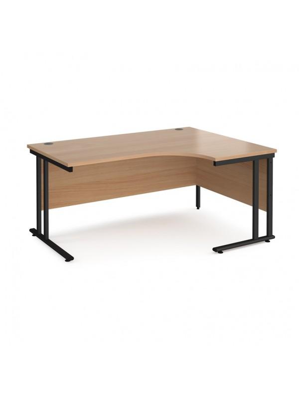 BIG DEALS Maestro 25 Cantilever Leg Ergonomic Desk - Right Hand