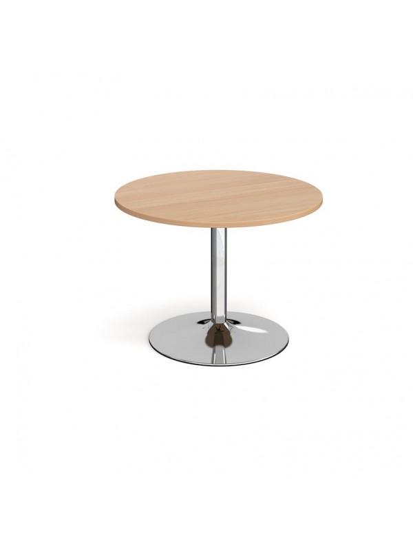 DAMS Trumpet base circular boardroom table 1000mm