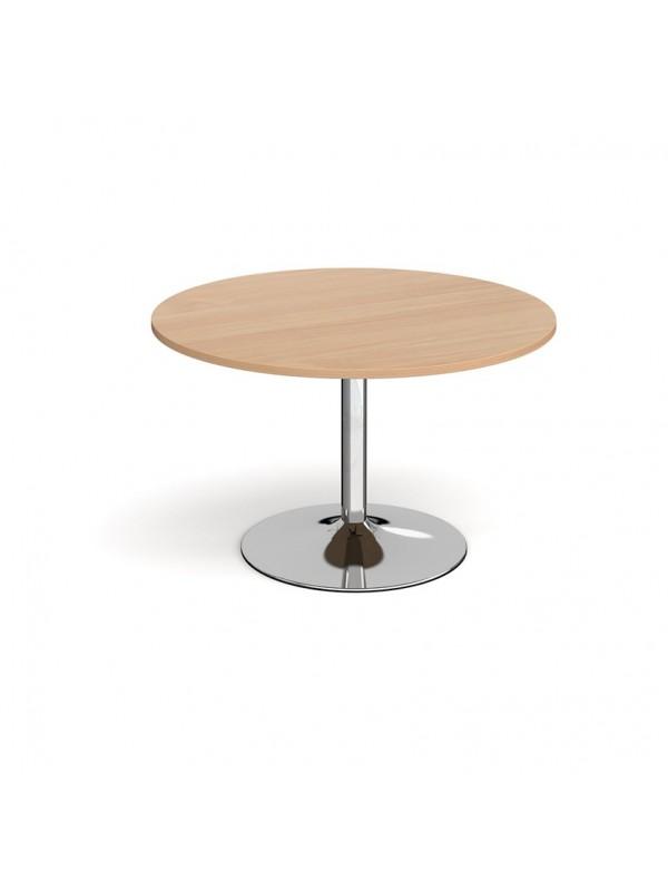 DAMS Trumpet base circular boardroom table 1200mm
