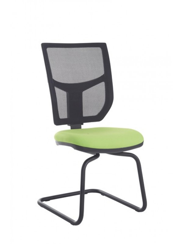 Altino mesh back visitors chair with no arms