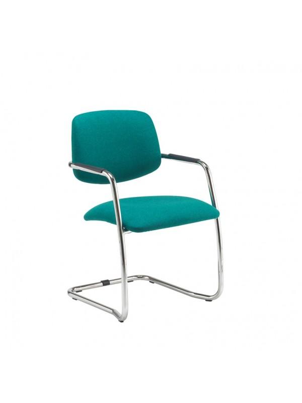 Tuba Cantilever frame conference chair - Half Back