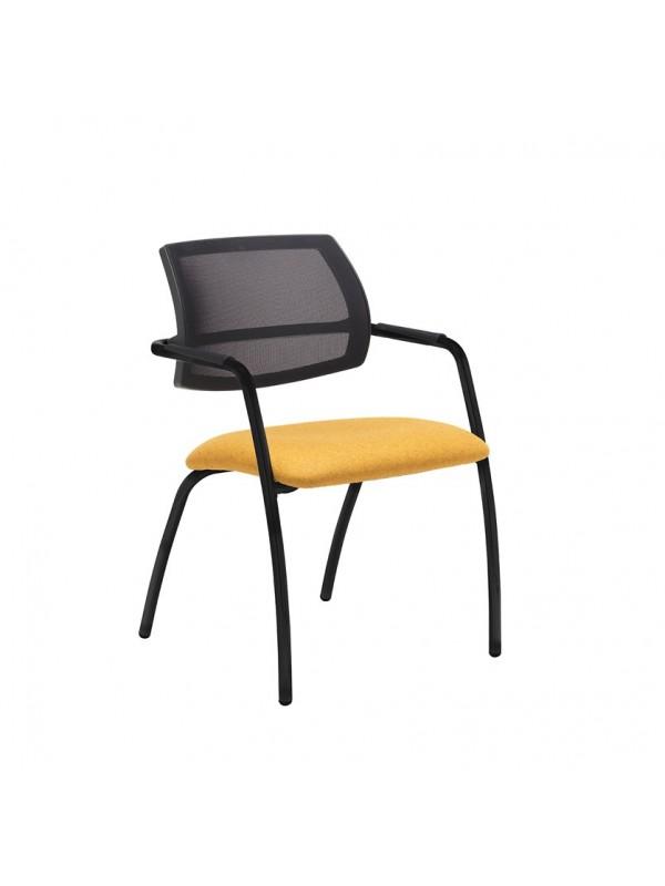 Tuba 4 leg frame conference chair - Mesh Back