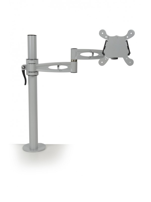 Single flat screen monitor arm