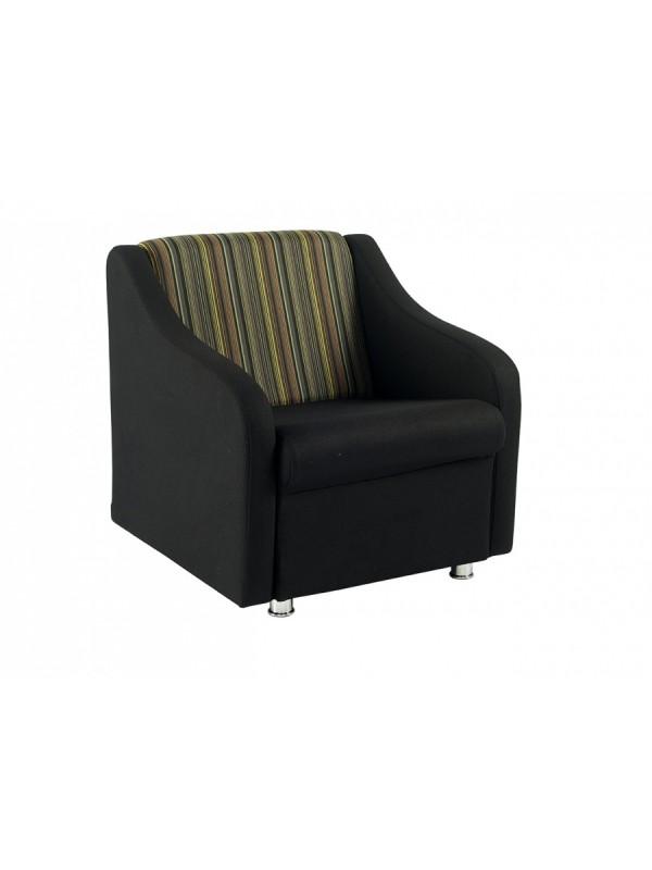 Alliance Sleek Armchair (Chrome Glides as Standard)