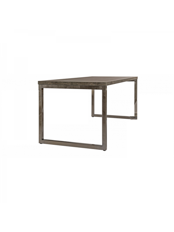 Axiom Rustic Industrial Style Canteen Bench Table