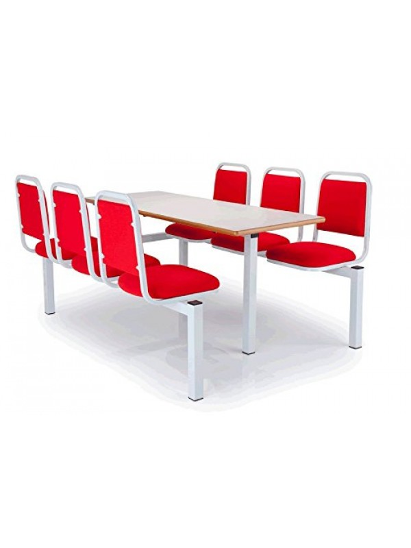 Coral Banquet Style Canteen Unit 2,4 or 6 seat - Vinyl