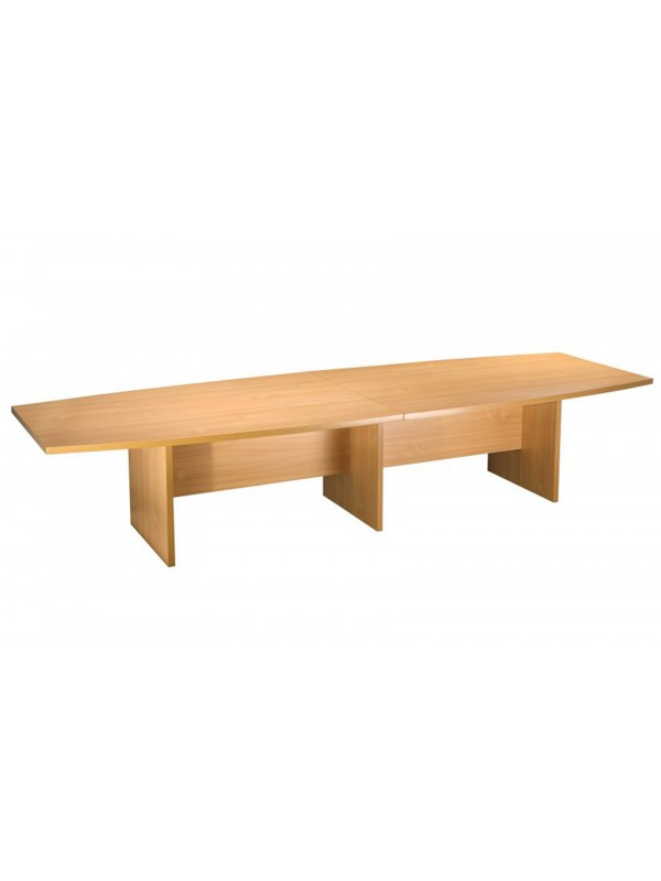 oi Boat Shaped Boardroom Table 4000mm Long