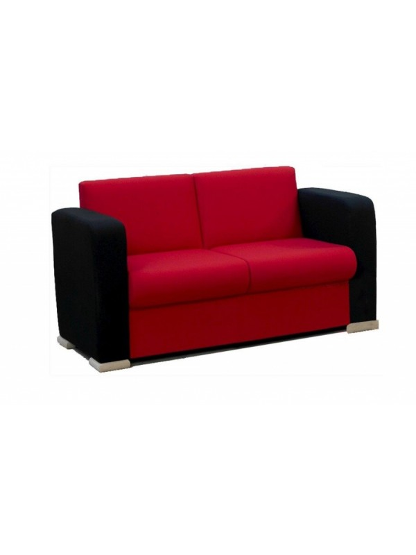 Alliance Phoebe 2 Seater Settee with Arms (Chrome Glides as Standard)