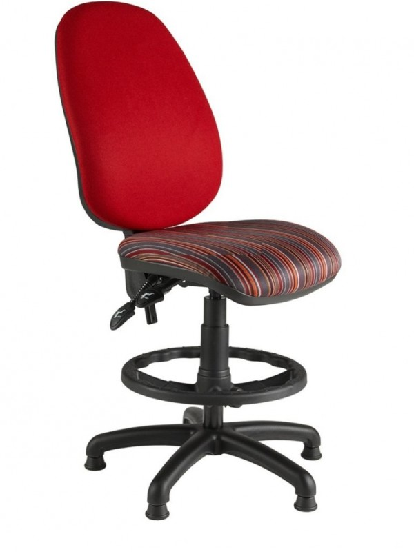Alliance Bimp Deluxe High Back Draughtsman Chair